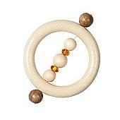Heimess 735080 Wooden Ring Rattle (Amber)