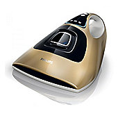 Philips FC6232-62 Dust Mite Anti-Allergen Handheld Vacuum Cleaner - Shining Gold