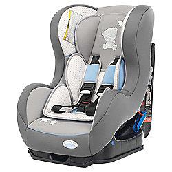 Obaby Group 0+ / 1 Combination Car Seat, Tiny Tatty Teddy Grey