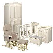 Tutti Bambini Alexia 6 Piece Room Set - Vanilla