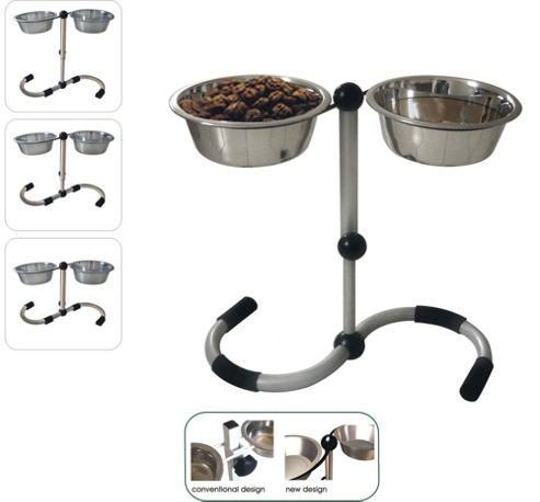 Timber Funky S Shape Diner Dog Bowl - 2 Quarts