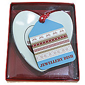Scandi Heart shaped plaque