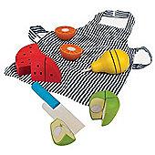 Bigjigs Toys Cutting Fruit Chef Set