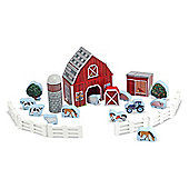 Melissa and Doug - Wooden Farm Blocks - Toy