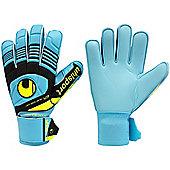 Uhlsport Eliminator Soft Junior Goalkeeper Gloves - Blue