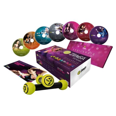 Zumba Exhilarate DVD Fitness Pack