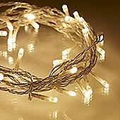 200 Warm White LED Fairy Lights - 10 Metres (Multifunction)