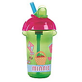 Disney Baby Click Lock 9oz Flip Straw Cup Minnie Mouse Green