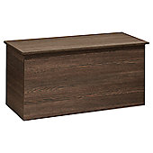 Welcome Furniture Contrast Blanket Box - Vanilla