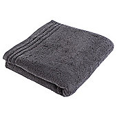 Tesco Egyptian Cotton Hand Towel, Charcoal