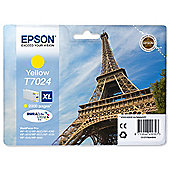 Epson T7024 High Ink Cartridge For Epson WorkForce Pro 4000 Series Printers - Yellow