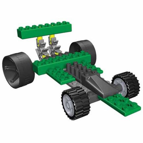 Tomy K'Nex Dragsters Model 3 - Green