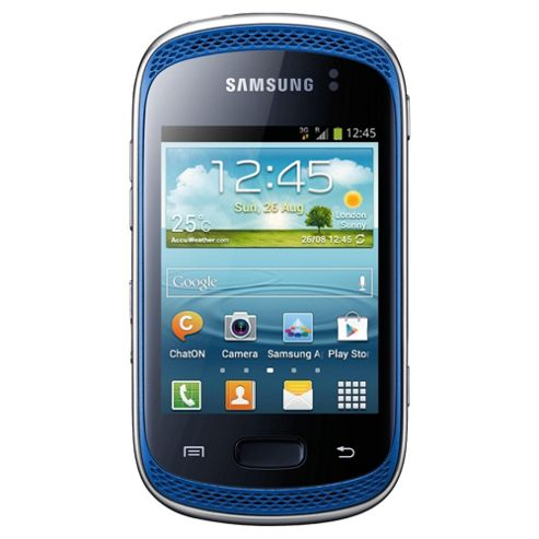 Unlocked Samsung Galaxy Music Blue -SIM Free