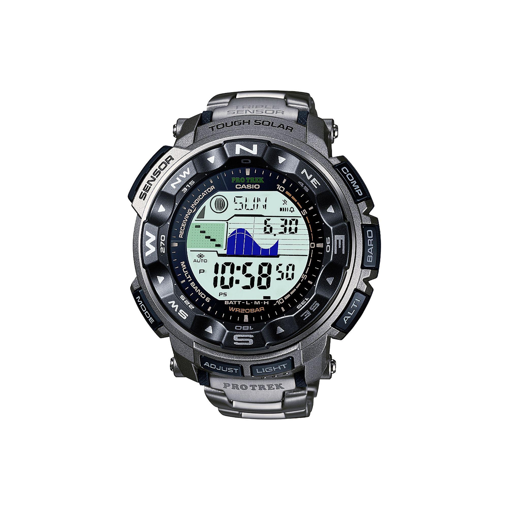 Casio Protrek Multifunction Strap Watch PRW-2500T-7ER at Tesco Direct