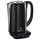 Russell Hobbs Glass Touch Jug Kettle, 1.7L  - Black