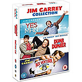 Jim Carrey Triple: Yes Manm, Dumb And Dumber & Ace Ventura (DVD Boxset)