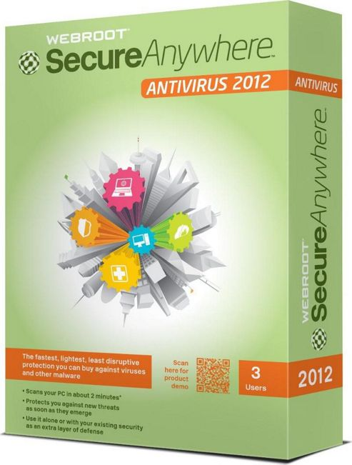 Webroot SecureAnywhere AntiVirus 1 User