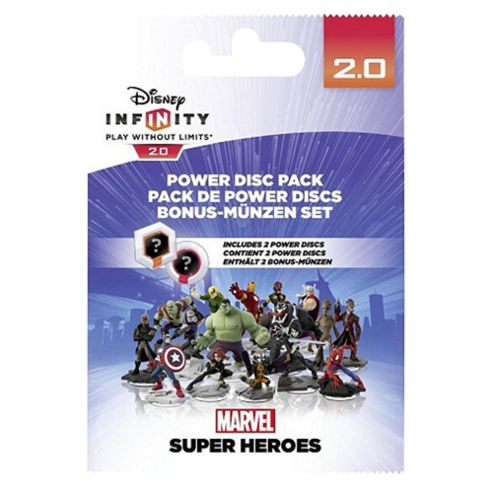 Cheapest Disney Infinity 20 Power Discs Pack  Marvel on PlayStation 4