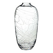 Linea Clear Swirl Small Vase New