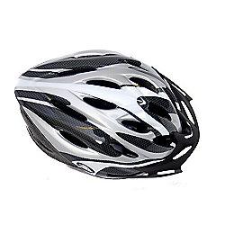 Coyote Sierra Adult Helmet Silver Medium 54-59cm