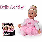 Dolls World Little Ballerina Doll