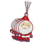 Chilly Santa Christmas Gift Tags, 6 pack