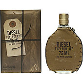 Diesel Fuel For Life Eau de Toilette (EDT) 75ml Spray For Men
