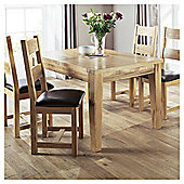 Java Dining Table and 4 Chairs