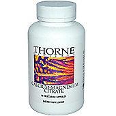 Thorne Research Calcium Magnesium Citrate 90 Veg Capsules