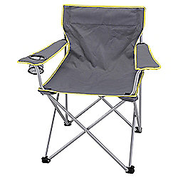 Tesco Grey Folding Armchair