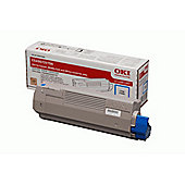 OKI Toner Cartridge for C5650/C5750 Colour Printers (Cyan).
