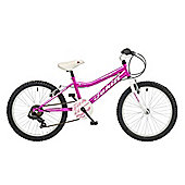 "2015 Coyote Tahiti 6 Speed 20"" Wheel Girls Mountain Bike 7-9 Yrs"