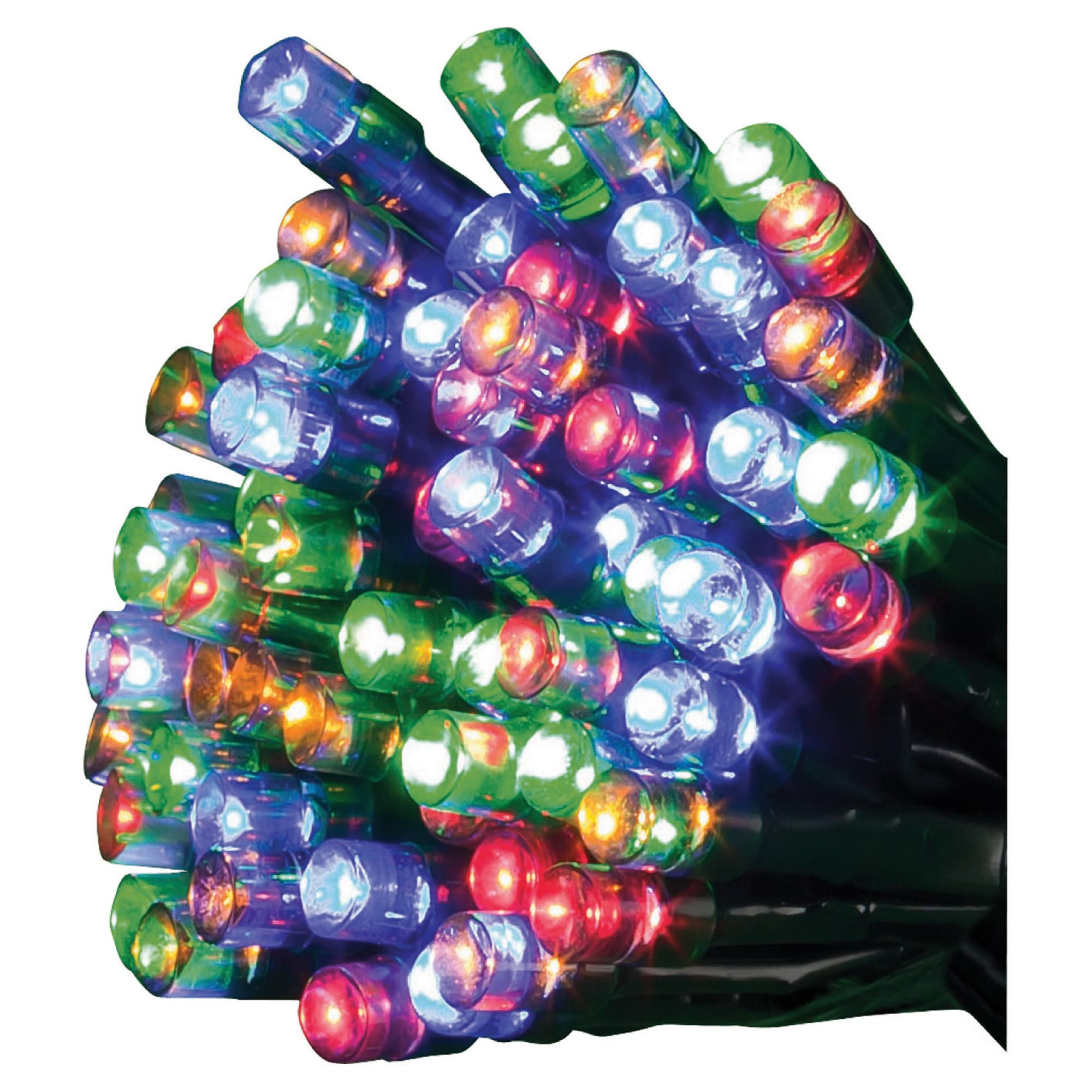 Tesco 200 Coloured Multi-function Led Christmas Lights