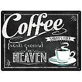 Red Hot Lemon Coffee Heaven Wall Art