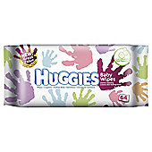 Huggies Everyday Baby Wipes 64