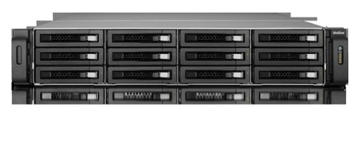 QNAP TS-1279U-RP Rack Server Turbo NAS Business Server with 2U Rail Kit (Black)