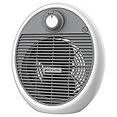 Bionaire BFH002 Fan Heater, 2000W - White & Grey
