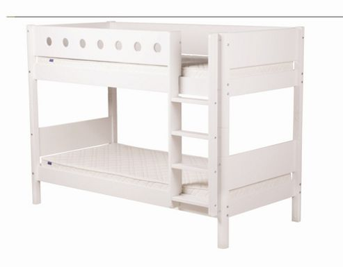 Flexa Flexa White Bunk Bed with Under Bed Drawers
