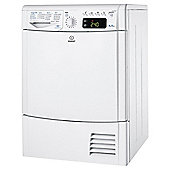Indesit IDCE8450BH Condenser Tumble Dryer , 8Kg Load, White