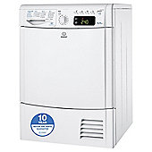 Indesit IDCE8450BH Freestanding Condenser Tumble Dryer, 8Kg Load, B Energy Rating, White