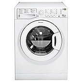 Hotpoint WDAL8640P Washer Dryer, 8kg Load, 1400 RPM Spin, A Energy Rating, White
