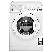 Hotpoint WDAL8640P, Freestanding Washer Dryer, 8Kg Wash Load, 1400 RPM Spin, A Energy Rating, White