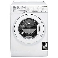 Hotpoint Aquarius Washer Dryer, WDAL8640P, 8KG Load, White
