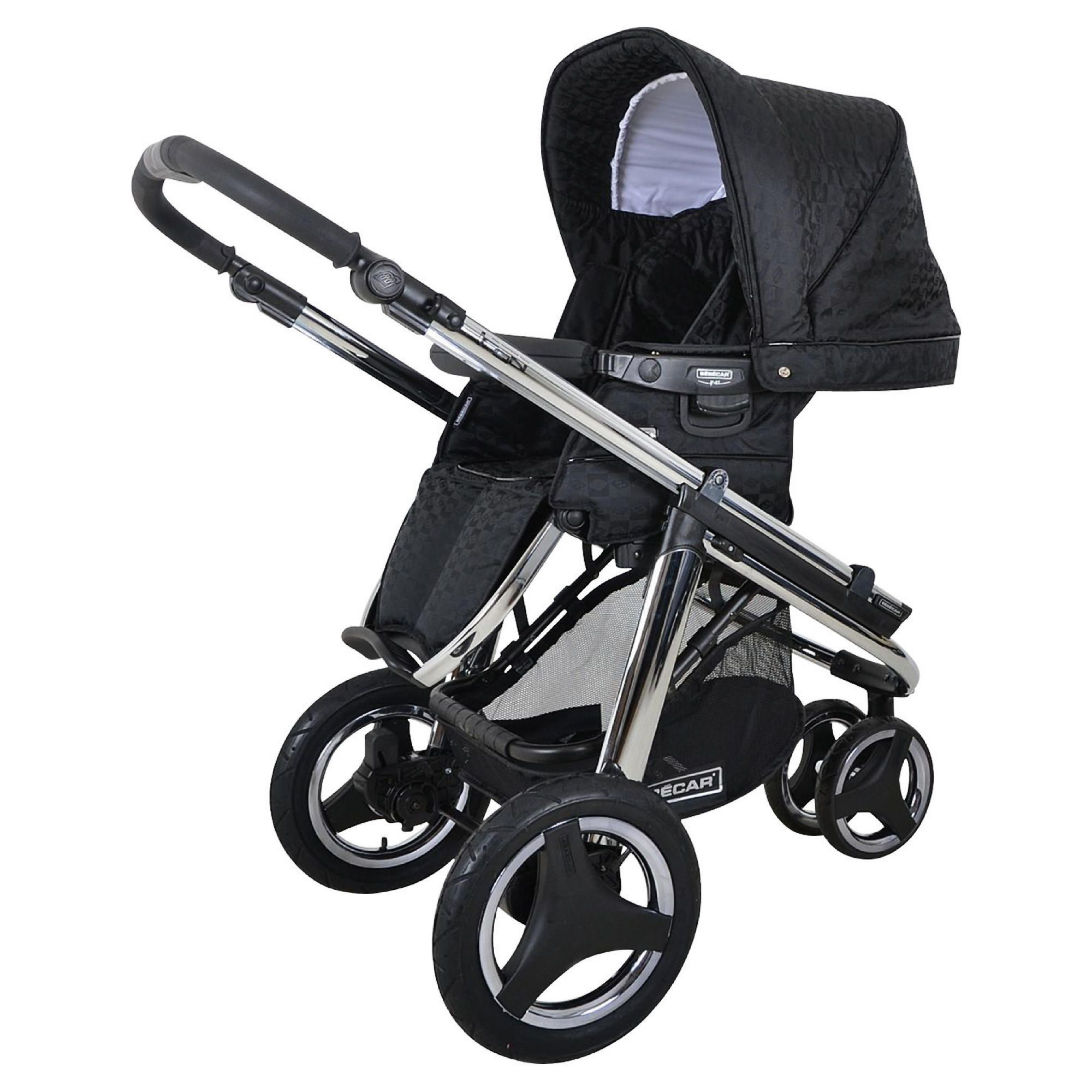 Bebecar Icon Pushchair Black Velvet at Tesco Direct