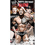 WWE Birthday Card