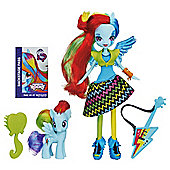 My Little Pony Equestria Girl Rainbow Dash With Pony