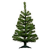 2ft (60cm) Artificial Pine Christmas / Xmas Tree With Stand