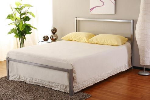 Home Zone Fulham Metal Bed Frame - Double