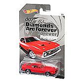 Hot Wheels James Bond Diecast Vehicle - Diamonds Are Forever