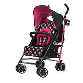 Obaby Minnie Mouse Travel System with Safety Mosquito Net - Minnie Circles